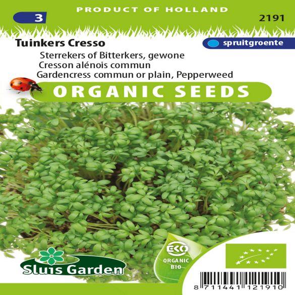 Cress organic seed