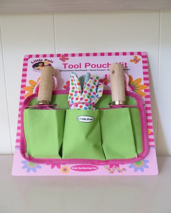 Children's Tool Pouch Pink