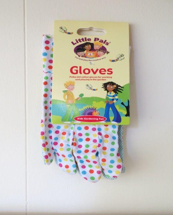 Children's Rigger Garden Gloves Polka Dot